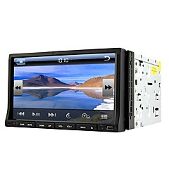 Runrgace 2din 7 '' slide down hd touch screen universele auto dvd speler met gps / bluetooth / radio rl-203wgn02