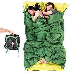 寝袋 ワイドダブル型 8°C 旅行用睡眠グッズ 215*145X145 フル 幅200 x 長さ230cm