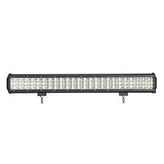 3 soros 216w 21600lm led munka világítósáv 216w fényszóró kombinált offroad lámpa 216w vezethető fényszóró