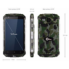 XP7711 5.0 inch Cell Phone (1GB + 8GB 2 MP Quad Core 3200mAh)