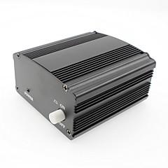 Fantom güç 48v adaptör ile birlikte 3m ses xlr kondenser mikrofonu stüdyo müzik ses kaydı ekipmanı