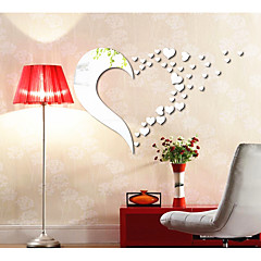 cheap Wall Art-Abstract Shapes 3D Wall Stickers Mirror Wall Stickers Decorative Wall Stickers, Acrylic Home Decoration Wall Decal Wall
