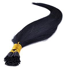 ieftine Extensii Păr Fusion-Fuziune / I Tip Umane extensii de par Drept Păr Natural Pentru femei Zilnic