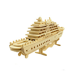 baratos -Quebra-Cabeças 3D Quebra-Cabeça Brinquedos de Montar Navio Faça Você Mesmo Simulação De madeira Clássico Crianças Unisexo Brinquedos Dom