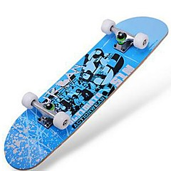 31 Inch Complete Skateboards Standard Skateboards Maple 608ZZ-Red Green Blue Pattern