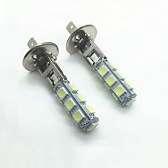 billige Tåkelys til bil-H1 Bil Elpærer 4W W SMD 5050 480lm lm LED Tåkelys