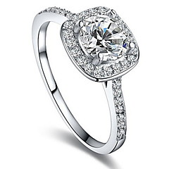 cheap Rings-Women's Ring Settings Ring Band Rings Cubic Zirconia Personalized Luxury Unique Design Classic Basic Sexy Friendship Durable Fashion