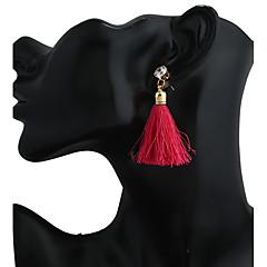 Damen Ohrstecker Tropfen-Ohrringe Kreolen Anhänger Stil Modisch Harz Aleación Geometrische Form Schmuck Für Bühne
