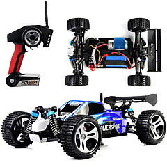 cheap RC Cars-RC Car WL Toys A959 2.4G 4WD High Speed Drift Car Off Road Car Buggy (Off-road) 1:18 Brush Electric 45 KM/H Remote Control / RC