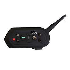 tanie Zestawy słuchawkowe do kasków-Motocykl V4.2 Słuchawki Bluetooth Samochodowy zestaw głośnomówiący Odtwarzacz MP3