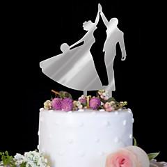 Taarttoppers Hoge kwaliteit Bruiloft Verjaardag Verjaardag Bruiloft Pvc-Bag