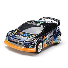 RC Car WL Toys A242 2,4G Auto Korkea nopeus 4WD Drift Car Lastenvaunut Maasturi 1:24 Sähköharja 35 KM / H Kauko-ohjain Ladattava Sähköinen