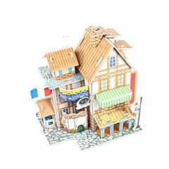 baratos -Quebra-Cabeças 3D / Brinquedos de Montar Casa Faça Você Mesmo Papel de alta qualidade Clássico Unisexo Dom