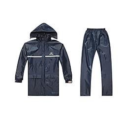 tanie Kurtki motocyklowe-Ubrania motocyklowe Płaszcz przeciwdeszczowy na Unisex Materiał ekologiczny / Poliester Wodoodporny / Luźna / Podczas deszczu