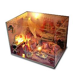 billiga Leksaker och spel-CUTE ROOM Modellbyggset GDS (Gör det själv) Hus Plastik Klassisk Bitar Unisex Present