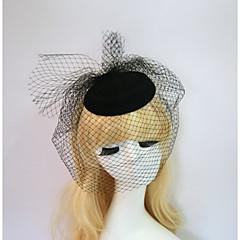 Resina Capacete-Casamento Ocasião Especial Halloween Aniversário Festa/Noite Casual Fascinador Chapéus 1 Peça