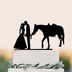 קישוטים לעוגה איכות גבוהה חתונה מסיבה / ערב חתונה יומהולדת תיק PVC