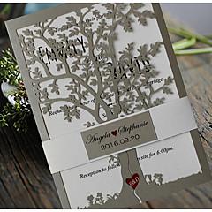 観音折り 結婚式の招待状-招待状カード 招待状サンプル 母の日のカード ベビーシャワー・カード ブライダルシャワー・カード 婚約披露パーティー・カード クラシック エンボス紙