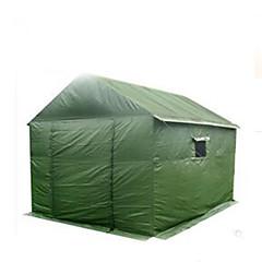 billige Telt og ly->8 personer Telt med flere rom camping Tent Automatisk Telt Hold Varm Støvtett til Camping & Fjellvandring 2000-3000 mm Andre Material CM