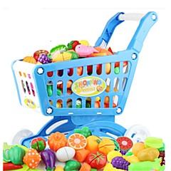 Hrajeme si na... Toy kuchyňských sestav Toy Foods Autíčka Hračky Zelenina Friut Simulace Pieces