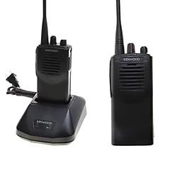billige Walkie-talkies-Walkie-talkie Håndholdt Programmeringskabel Programmerbar med datasoftware Lader og adapter Kryptering Skanning av ut CTCSS/CDCSS 5-10 km