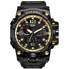 cheap Women's Watches-SMAEL Men's Digital Digital Watch Military Watch Sport Watch Japanese Calendar / date / day Chronograph Water Resistant / Water Proof