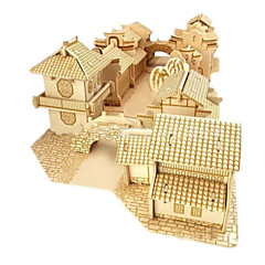 DIY KIT 3D Puzzles Jigsaw Puzzle Toys Famous buildings House Architecture 3D Unisex Boys Pieces