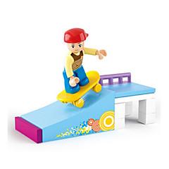 tanie Klocki magnetyczne-Klocki Figurki z klocków Zabawy w odgrywanie ról Zamek Dom Zabawki Animals Dla dziewczynek Zabawki Prezent