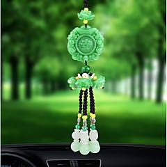 Diy autóipari autó függő szerencsés jade magas divat autó medál&Kristály díszek