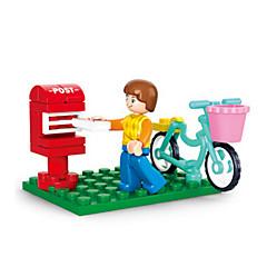 tanie Klocki magnetyczne-Klocki Figurki z klocków Zabawy w odgrywanie ról Cylindryczny Zamek Dom Animals Dla dziewczynek Zabawki Prezent