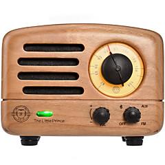 tanie -MAO KING MW-2 FM Przenośne radio Radio FM / Zbudowany w obecnie Marszałka Odbiornik świata Jasnobrązowy