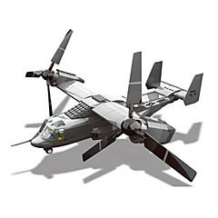 tanie Klocki magnetyczne-Samochodziki do zabawy Klocki Samolot Myśliwiec Fun & Whimsical Dla chłopców Zabawki Prezent