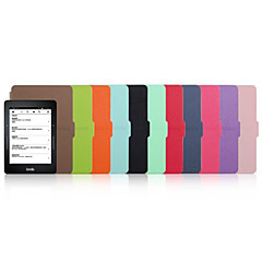 billige Nettbrettetuier-Etui Til Amazon Kindle Fullbody Etuier Heldekkende etui Nyhet Hard PU Leather til