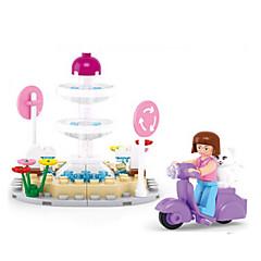 tanie Klocki magnetyczne-Klocki Figurki z klocków Zabawy w odgrywanie ról Okrągły Zamek Dom Animals Dla dziewczynek Zabawki Prezent