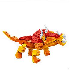 Blocos de Construir Brinquedos Dinossauro Peças Rapazes Dom