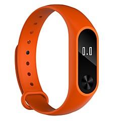 tanie Inteligentne zegarki-Inteligentne Bransoletka YYW52 na Android iOS Bluetooth Sport Wodoodporny Pulsometry Ekran dotykowy Spalonych kalorii Pulsometr Krokomierz Powiadamianie o połączeniu telefonicznym Rejestrator