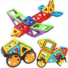 אבני בניין בלוקים מגנטיים מגדיר בניין מגדיר מכוניות צעצוע צעצועים כלי טיס חתיכות בגדי ריקוד ילדים נערים מתנות