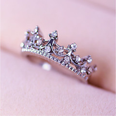 halpa -Naisten Strassi Personoitu pukukorut Metalliseos Crown Shape Korut Käyttötarkoitus Häät Party Päivittäin Kausaliteetti Työ