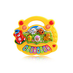halpa -Musiikkilelut Toy Instruments Lelut Piano Muovit 1 Pieces Unisex Lahja