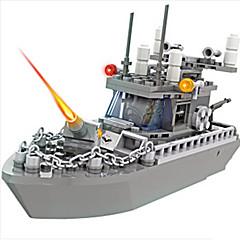 אבני בניין צעצועים ספינת מלחמה חתיכות בנים נערים יום הולדת מתנות