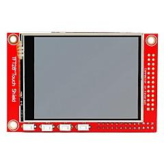 "cheap -2.8"" TFT 320 x 240p Touchscreen Display Module for Raspberry Pi B+ / B - Red"