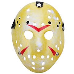 halloween porézní jason zabiják maska starý vybledlý tlustý 13. hororový hokej cosplay carnaval maškarní strana kostým prop