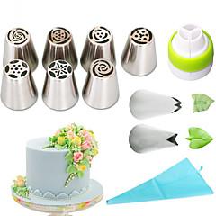 billige Bakeredskap-Bakeware verktøy Rustfritt Stål + A-klasse ABS Økovennlig Dagligdags Brug Cake Moulds 1set