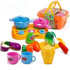Toy kuchyňských sestav Toy Foods Hračky Jídlo Hračky Chlapci Dívčí Pieces