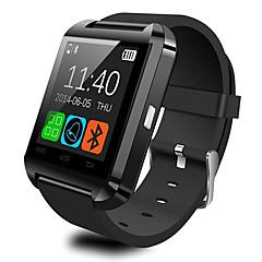 u8 smartwatch assista a resposta bluetooth e marque as funções do alarme de assaltante do passômetro do telefone