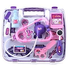 billiga Jobb- och rollspelsleksaker-medicinsk utrustning Låtsaslek Jobb- och rollspelsleksaker Läkarväska Plastik Pojkar Barn Present
