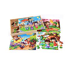 Bildungsspielsachen Holzpuzzle Spielzeuge Zeichentrick andere Blume friut Unisex Stücke