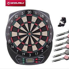 Winmax Darts Dart Board Darts Set Toys Sports Multi-function Electronic LED Indicator Electric 21 Games Voice Scoring Soft Tip Fun