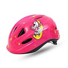 バイク ヘルメット N/A Certification サイクリング 9 通気孔 エコ 携帯 耐久 サイズ調整機能 子供用 ESP+PC サイクリング バイク