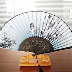 Fanoušci a slunečníky-Piece / Set Ruční ventilátor Plážový motiv Zahradní motiv Motýlí motiv Klasický motiv Svatba Vintage Theme